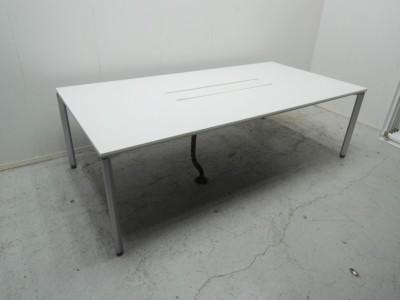 コクヨ 2400ワークテーブル 中古 オフィス家具 デスク フリーアドレスデスク