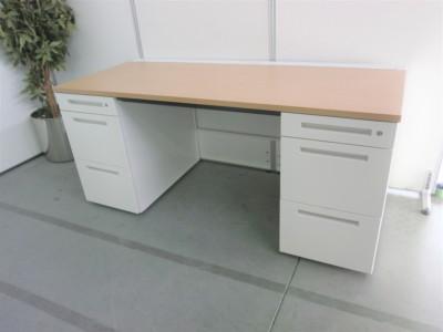 イトーキ 1600両袖デスク 中古|オフィス家具|事務デスク|両袖デスク