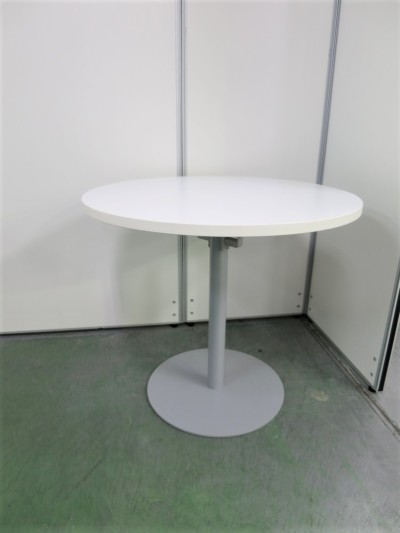 アールエフヤマカワ 丸テーブル 中古 オフィス家具 ミーティングテーブル