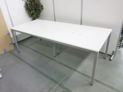 アールエフヤマカワ ミーティングテーブル  中古 オフィス家具 ミーティングテーブル
