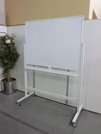 プラス 1200脚付ホワイトボード  中古|オフィス家具|脚付きホワイトボード|片面