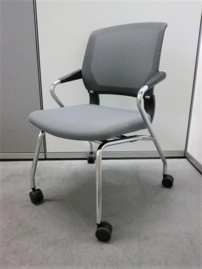 コクヨ サテリテチェア4脚セット 中古|オフィス家具|ミーティングチェア