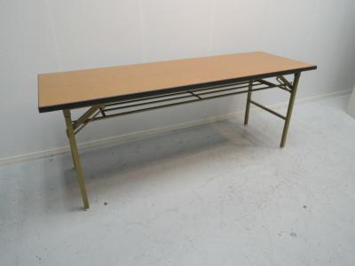 折畳会議テーブル 中古|オフィス家具|ミーティングテーブル|折畳会議テーブル
