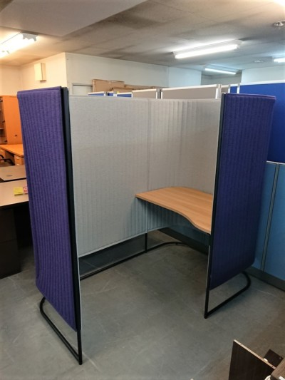 コクヨ 1人用スクリーンブース 中古|オフィス家具|ミーティングテーブル|その他|事務デスク