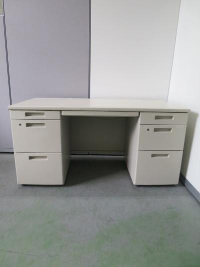 コクヨ 1400両袖デスク 中古|オフィス家具|事務デスク|OAデスク