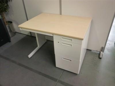 コクヨ 1000片袖デスク  中古|オフィス家具|事務机