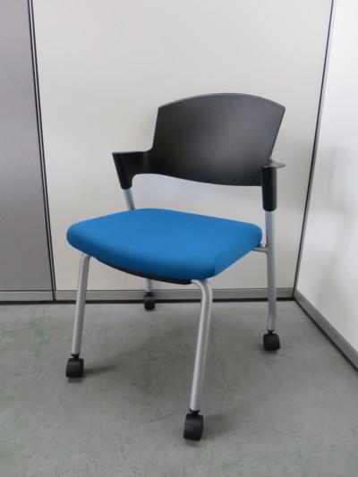 コクヨ プロッティチェア4脚セット 中古|オフィス家具|ミーティングチェア
