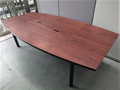 アールエフヤマカワ 2400舟形ミーティングテーブル 中古|オフィス家具|ミーティングテーブル