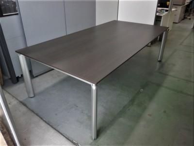 ライオン 2400ミーティングテーブル 中古|オフィス家具|ミーティングテーブル