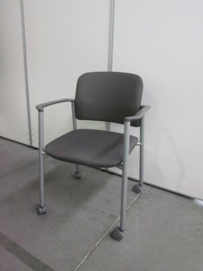 コクヨ スタッキングチェア4脚セット 中古|オフィス家具|ミーティングチェア