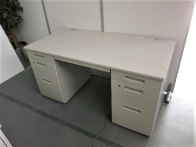 コクヨ 1400両袖デスク  中古|オフィス家具|事務机