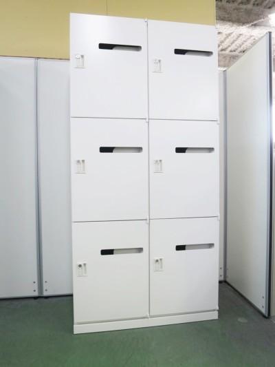ウチダ(内田洋行) 6人用パーソナルロッカー 中古|オフィス家具|ロッカー|6人用ロッカー