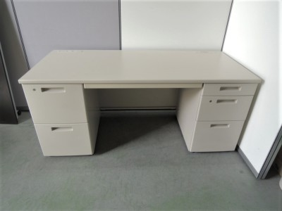 コクヨ 1600両袖デスク 中古|オフィス家具|事務デスク|OAデスク