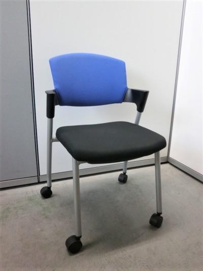 コクヨ プロッティチェア5脚セット 中古|オフィス家具|ミーティングチェア