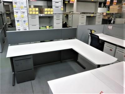 コクヨ L型デスクシステム  中古|オフィス家具|事務デスク|OAデスク