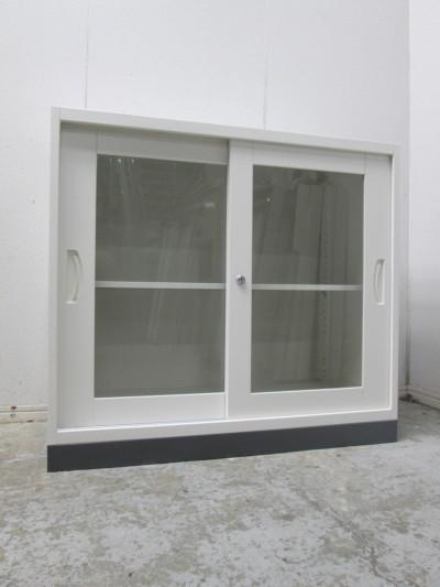 SEIKO FAMILY(生興) ガラススライド書庫 中古|オフィス家具|書庫