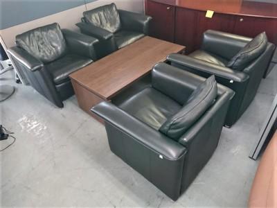 ドミシール/コクヨ 応接5点セット 中古|オフィス家具|応接セット