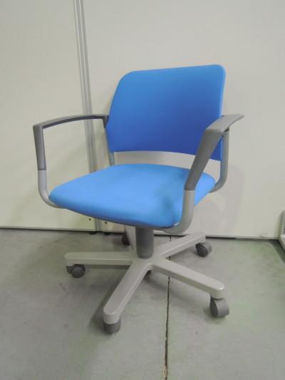 アイコ 肘付ミーティングチェア4脚セット 中古|オフィス家具|ミーティングチェア