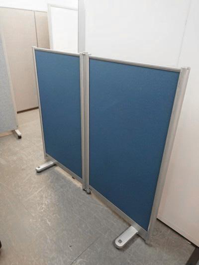 コクヨ 2連自立パーテーション  中古|オフィス家具|パーテーション|自立式