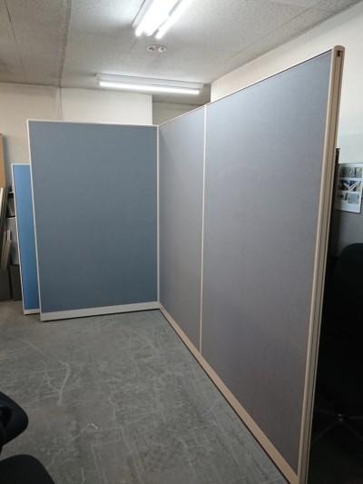 イトーキ 3連L型パーテーション  中古|オフィス家具|パーテーション