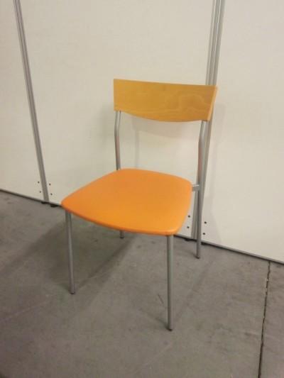 相合家具  スタッキングチェア4脚セット  中古|オフィス家具|ミーティングチェア