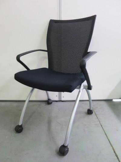 ヘイワース  ネスティングチェア4脚セット  中古|オフィス家具|ミーティングチェア
