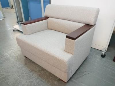 コクヨ 1人掛けソファ 中古 オフィス家具 応接家具