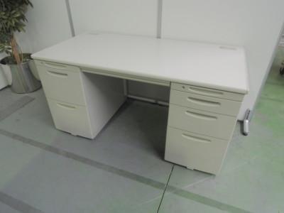オカムラ 1400両袖デスク  中古|オフィス家具|デスク|両袖デスク