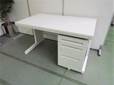 ウチダ(内田洋行) 1200平デスク+ワゴンセット 中古|オフィス家具|デスク|デスクセット