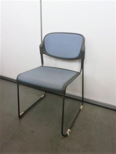 サンケイ スタッキングチェア6脚セット 中古|オフィス家具|ミーティングチェア|スタッキングチェア