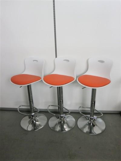 あずま工芸 ハイチェア3脚セット 中古|オフィス家具|ミーティングチェア