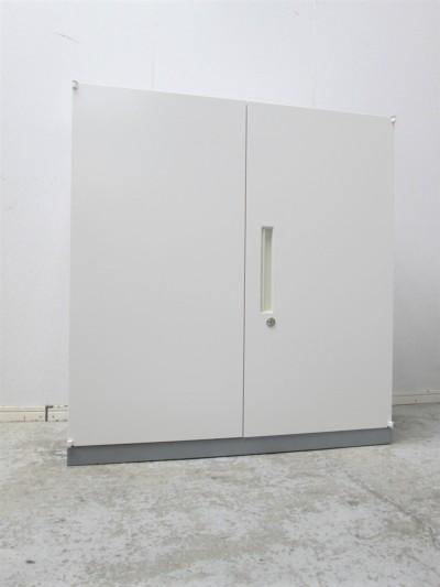 イナバ 両開き書庫  中古|オフィス家具|書庫