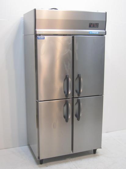 大和冷機 縦型冷凍冷蔵庫買取しました!