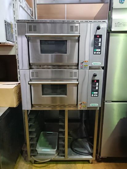 タニコー デッキオーブン2段 架台あり買取しました!