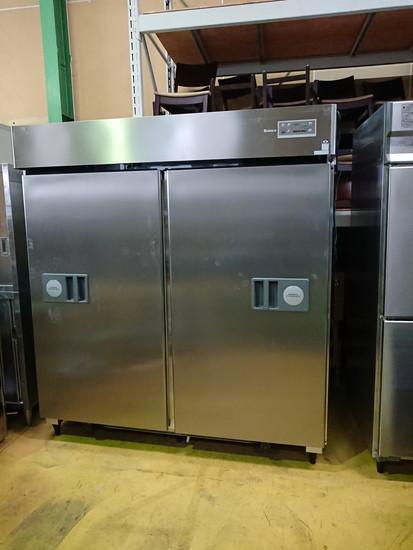 大和冷機 タテ型冷蔵庫自動スライドドア買取しました!