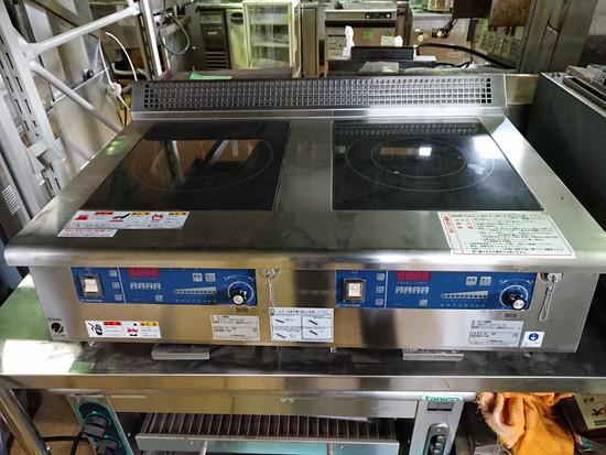 ニチワ電機IH調理器卓上型2口MIR-1033TA-N5