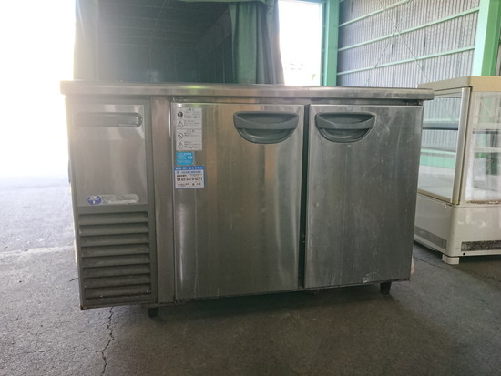 福島工業 台下冷蔵庫買取しました!