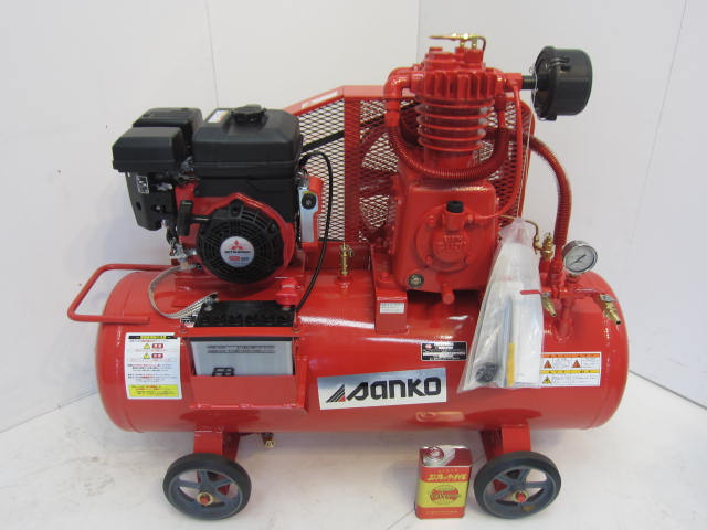 富士 5馬力エンジンコンプレッサー買取しました!